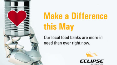 May Food Drive at Eclipse Automation