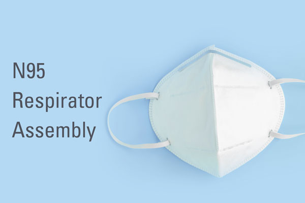 Respiratory N95 Mask Assembly Automation Systems design